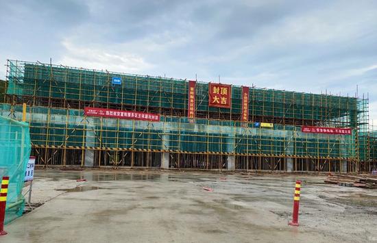 杭州二绕预计今年底通车 全省首个开放式服务区已结顶