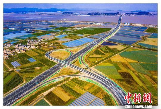 浙江沿海高速公路。浙江交通 供图