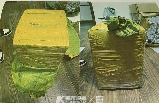 200多根羚羊角包裹抵达温州 警方设伏抓获神秘收件人