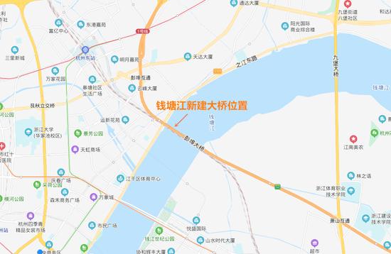 地铁和快速路都从这过 杭州双层跨江大桥又有新进展