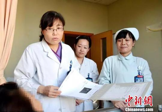图为:入院治疗 玉环市人民医院提供