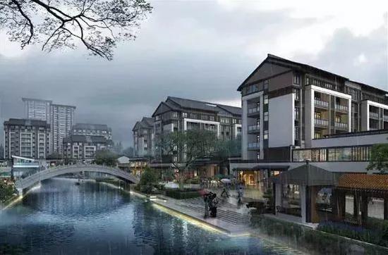 温州市龟湖街坊建设工程效果图