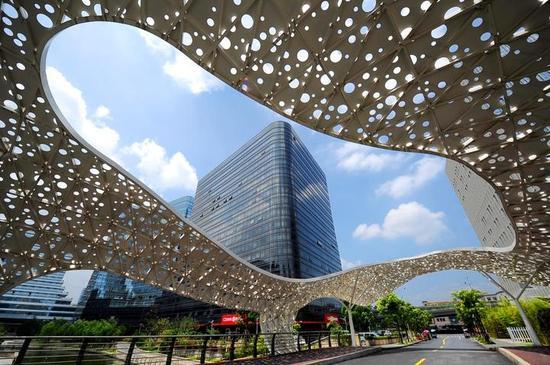 位于武林新城的核心区块的城北新天地。
