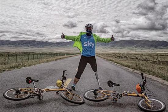 9年骑行3万多公里