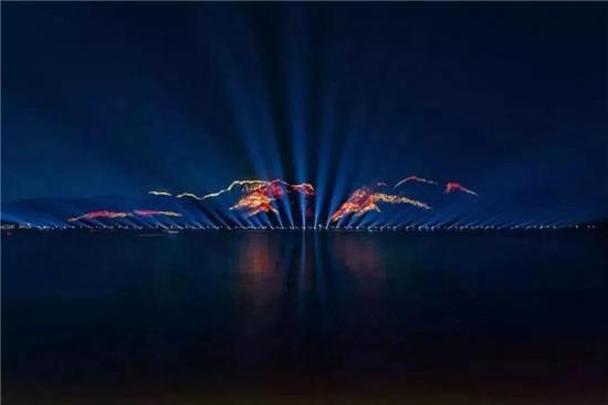 江心屿灯光秀与夜游时间安排