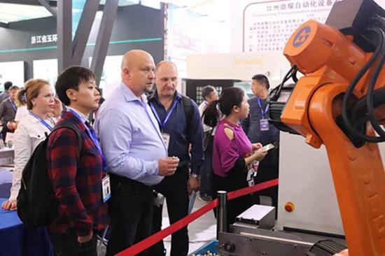 第十五屆中國(玉環)國際機床展開幕