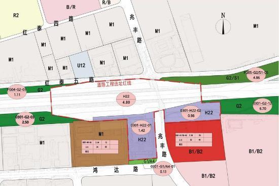 红垦收费站位置