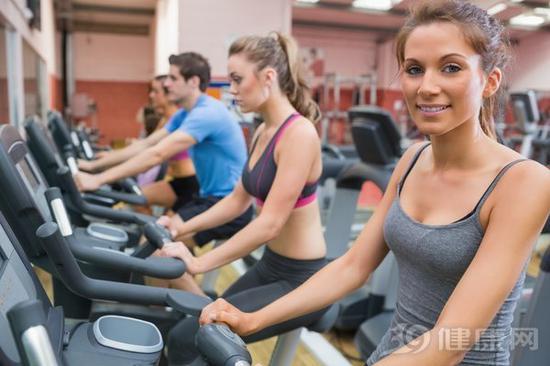 健身房健身器材之一:动感单车