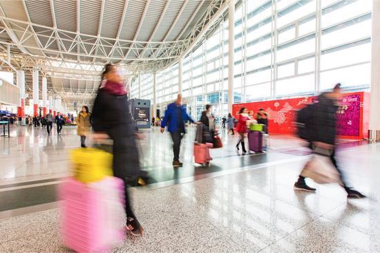 杭州萧山国际机场。 杭州机场供图