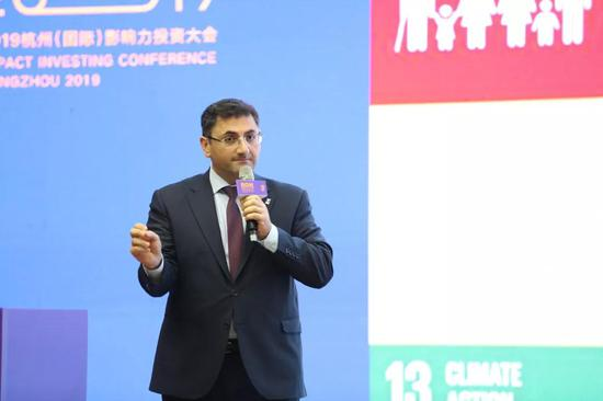 Artak Melkonyan在2019杭州(國際)影響力投資大會演講