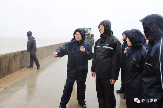 台州市领导深入临海检查防汛防台工作 落实防台措施