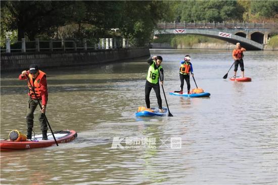 首次划桨板成功横渡琼州海峡 杭州这群人做到了