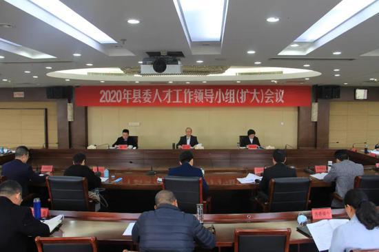 县委人才工作领导小组(扩大)会议