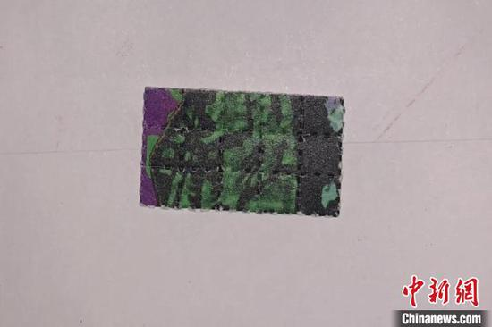 LSD毒品。台州公安供图