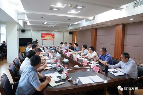 临海市委副书记王丹调研牛头山水库水质保护工作