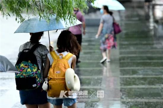梅雨又回来了 杭州开启降雨降温模式短暂告别高温晴热