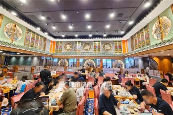 广州老牌茶楼来浙江了 下午1点多还有150桌等位
