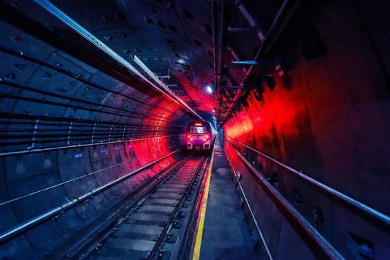 地铁6号线一期内部。杭州市地铁集团供图