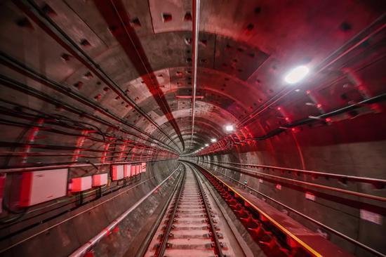 地铁1号线三期内部。杭州市地铁集团供图