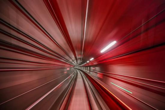 杭富城际铁路内部。杭州市地铁集团供图