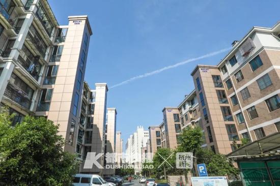 羡慕 杭州这个老旧小区里64个单元全都加装了电梯