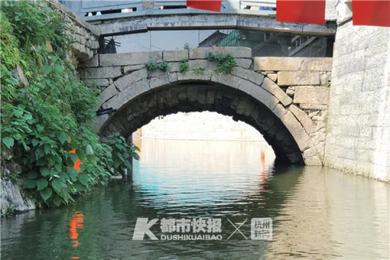 1000多年历史的太平桥重见天日 摄影 黄煜轩