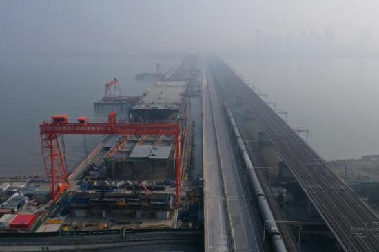 最新进展 杭州钱塘江新建大桥9月完成主体建设(图)