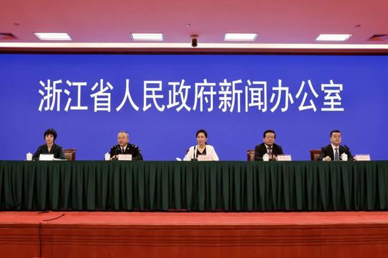 浙江省政府举行中国自由贸易试验区建设新闻发布会