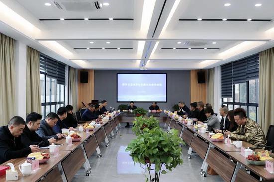 紹興市溫州商會四屆六次會長會議在紹職院召開