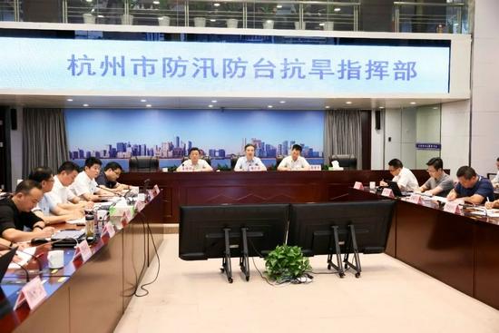 浙江省委常委周江勇赴市防指再作部署 并检查安置点