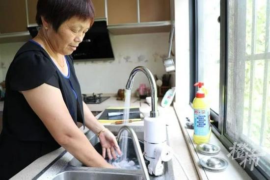 余杭山区群众喝上了放心水 实现自来水管网全覆盖