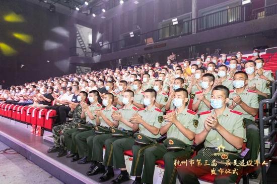 """杭州第三届""""最美退役军人""""发布 展现退役军人风采"""