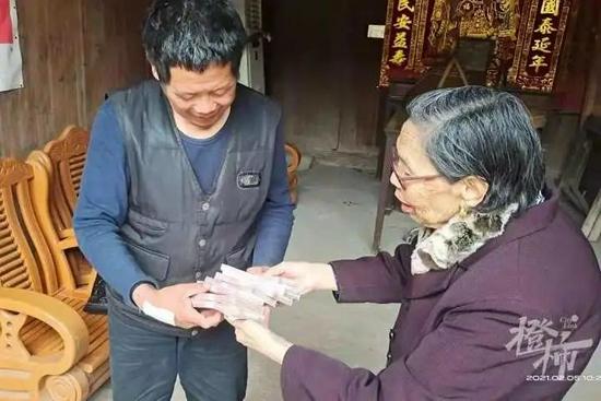 浙江奶奶10年还清2077万债务 入选第八届全国道德模范