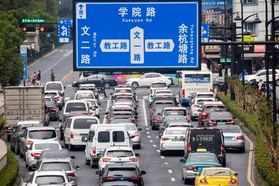 杭州文一路从一条小马路 成为杭州信息产业腾飞大道