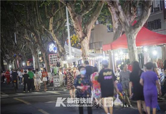 杭州版地摊经济新政策即将出炉 进来看哪里可以练摊