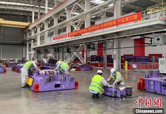浙江某汽车制造业企业。(资料图) 郭其钰 摄