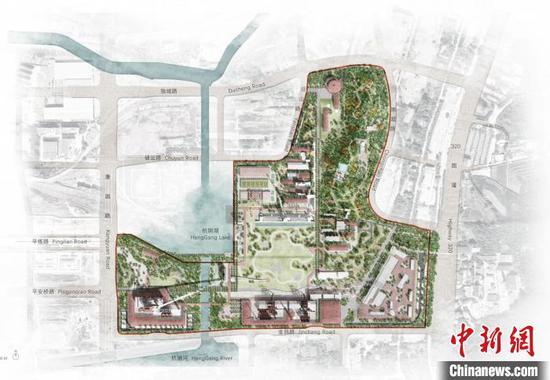 杭州大运河杭钢工业遗址综保项目开工 计划2023年建成