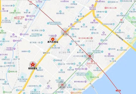 杭州汽车南站将于6月30日搬迁 临时过渡站在这里