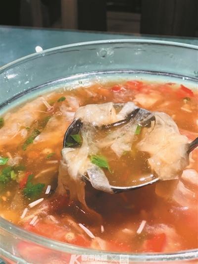 滑肉冬瓜汤