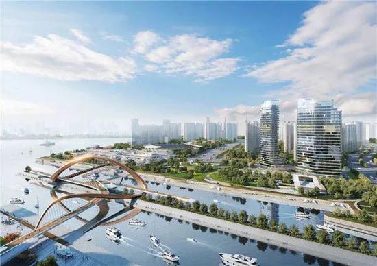 杭江河汇汇西地块建设方案公示 超25万方体量里有啥