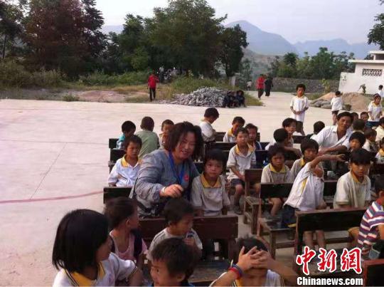 志愿者开展志愿活动 受访者提供