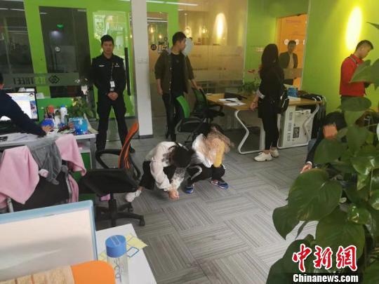 东阳警方捣毁5个网络赌博团伙。公安提供