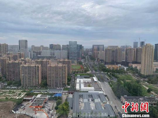 杭州市区。 郭其钰 摄