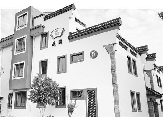 徽派民居风格的华丰悦居蓝领公寓。