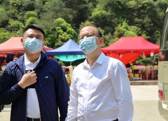 天台县委书记管文新再次带队检查五一旅游安全
