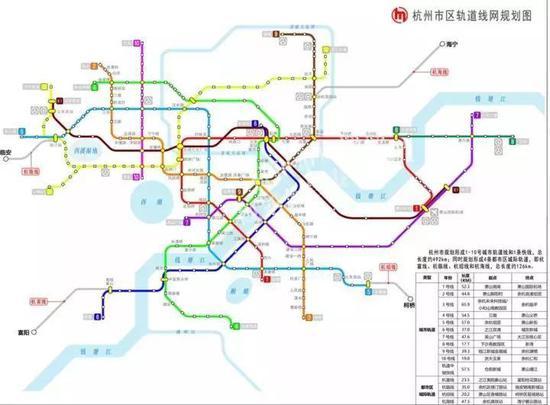 杭州地铁四号线二期有新进展 机场路站完成签约腾空图片