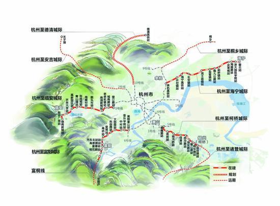 地铁16号线4月底前开通 杭安城际铁路什么时候开建