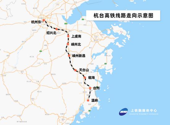 杭台高铁迎来重要节点 杭台路程时间将缩至1小时