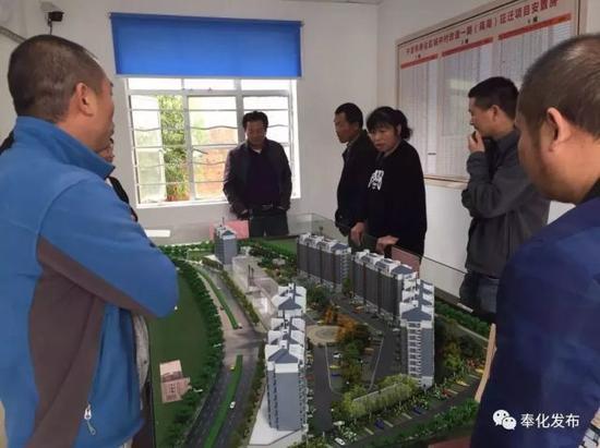 4月16日,宁波市奉化区城中村改造一期(莼湖)征迁项目正式开始签约。