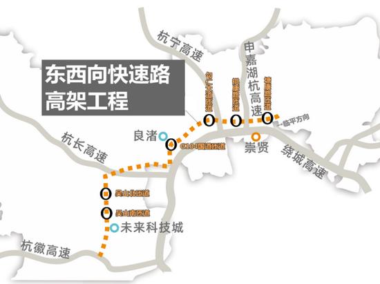 """杭州中环首通段快速路即将开通 将进入""""三环时代"""""""